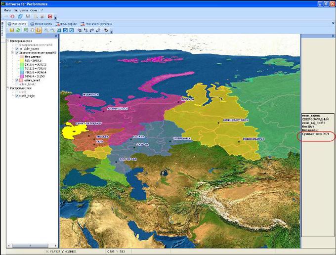 Новый объект UPE: картографическая привязка объектов и данных